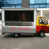 供应全国电动四轮集装箱款美食餐车冰激凌车中巴士