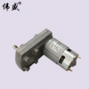 775直流减速电机7字型手摇发电机马达12V24V微型调速