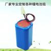 厂家直销 7.4V锂电池组 扩音机锂电池