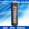 足容量镍氢充电电池5号aa充电电池2700mah1.2V5号低自电放电池