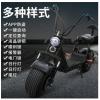 闪速电动车X8款哈雷车电动滑板车宽胎电动车代步