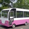 定制移动早餐快餐车电动美食售货冰淇淋车流动四轮小吃车房车