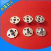 铁板螺母三孔螺母 微型公英制家具对锁螺母 圆盘圆形链接螺母定制