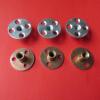 厂家批发供应 优质碳钢Q235镀镍圆螺母 公英制横孔圆形螺母锤母
