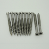 304不锈钢十字盘头圆头国标螺丝钉机丝紧固 木螺丝