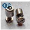 不锈钢英制弹簧螺丝1/4-20松不脱螺钉面板螺栓PFC2-0420-60/82/04