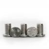 厂家直销定制款 非标焊接螺丝 不锈钢本色M5*8手拧平头焊接螺丝