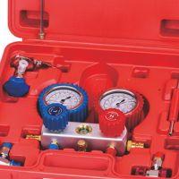 R134A冷媒表汽车加氟工具制冷表组合雪种压力表双表阀