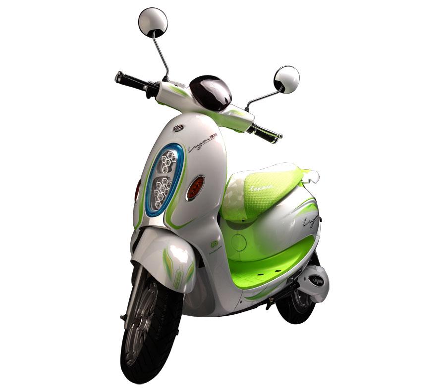 绿源电动车color苹果图片