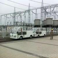 厂家供应电动观光型双排座工具车