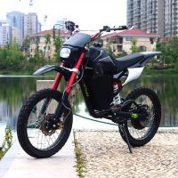 电动越野摩托车山地小高赛锂电池铝合金架成人越野车60V