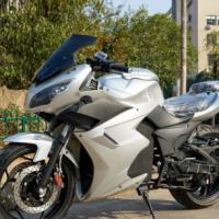 地平线S款电动摩托车跑车2000W72V铅酸电池成人代步车电瓶车