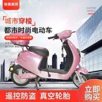 电动摩托车电动踏板车男女双人电瓶车48V-15A-24A(不含电池)