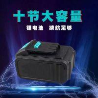 18V锂电池大艺冲击扳手充电电池电动工具24V角磨机洗车机枪锂电池
