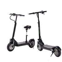 电动滑板车10寸成人可折叠两轮48V60V高速代步车踏板自行车工厂