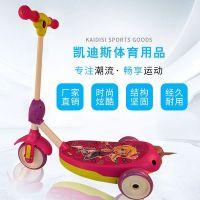 儿童电动滑板车可吹泡泡滑板车男女童卡通脚踏吹泡泡电动玩具车